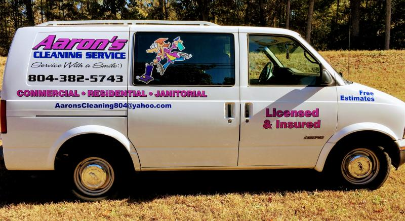 Aaron's Cleaning Service - Servicing the Greater Richmond Area for